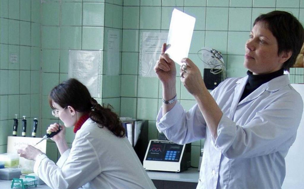 Laboratoire de microbiologie moléculaire à l'Institut Pasteur de Saint-Petersbourg