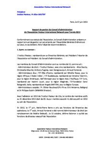 2012 Board Management and Financial Report